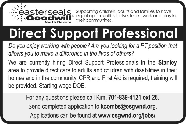 Easter Seals Job Posting