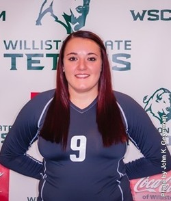 Brianna Holland (Photo Courtesy of Williston State College)