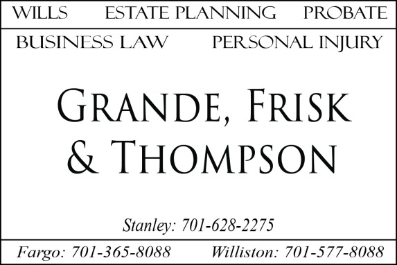 Grande Frisk & Thompson Ad