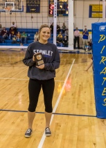 Abby Iverson (All-District/All Tournament) Photo by Alan Christianson)