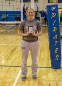 Hayley Schmidt All- Tournament (Photo by Alan Christianson)