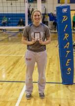 Hayley Schmidt All- Tournament (Photo by Alan Christianson)