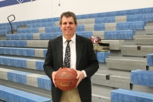 Coach Douglas Wagner after his 600th win (Photo by Ian Grande)