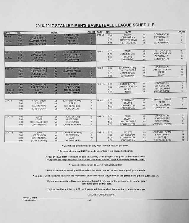stanley-mens-league-revised-schedule-16-17