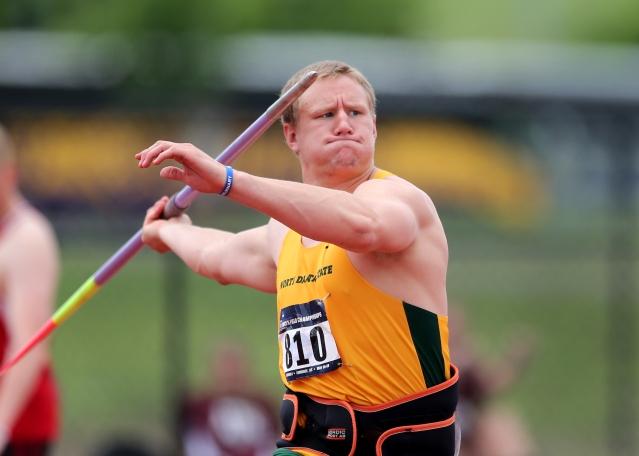Austin Schmidt 2016 NCAA Prelims Javelin