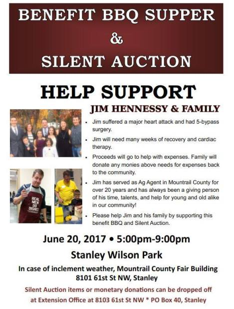 Jim Hennesey Benefit Event
