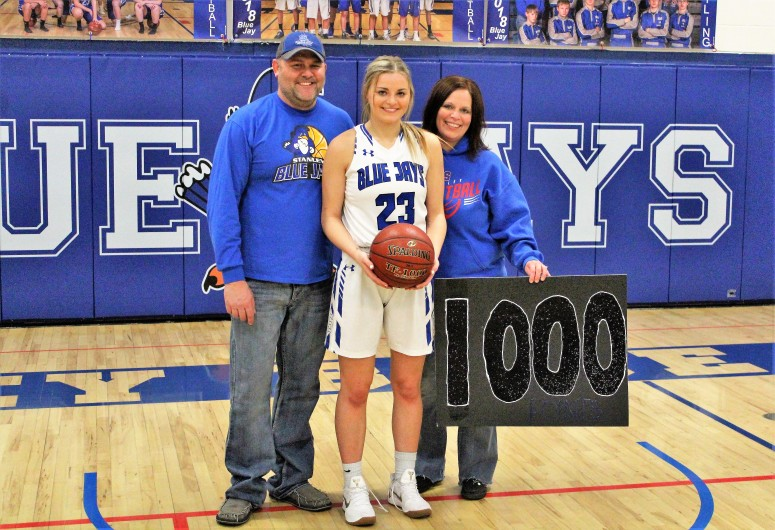 Abby 1000th point (Photo by Ian Grande)