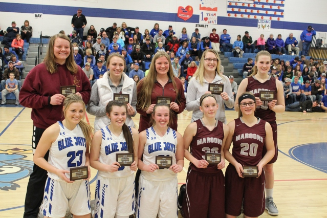 North Dakota Class B Girls District 16 All-Tournament Team (2018)