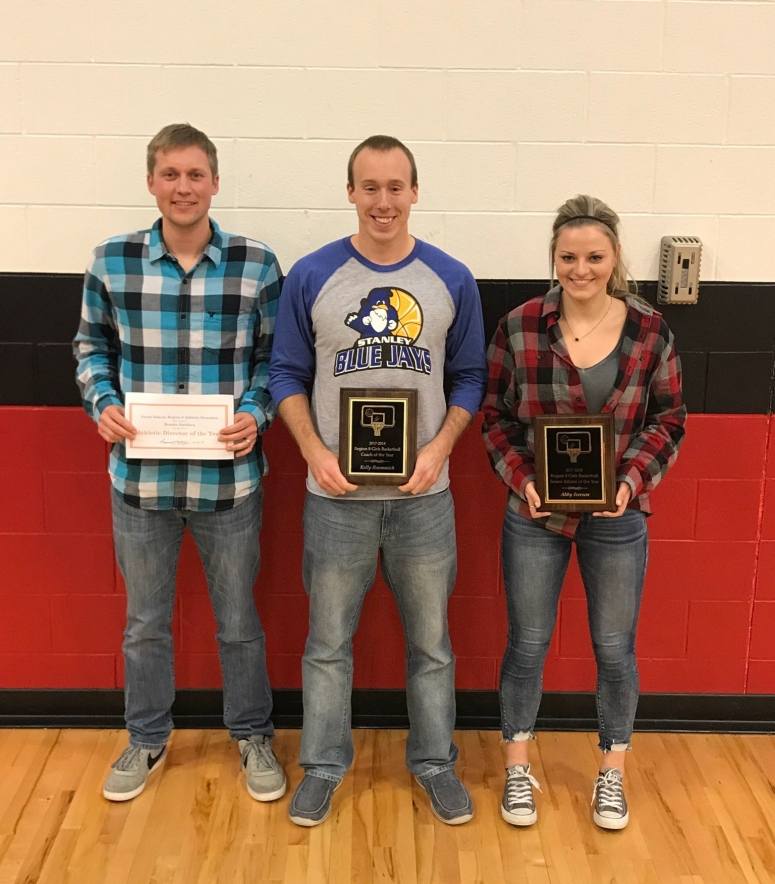 Brooks Staflien, Kelly Roemmich, Abby Iverson (Region 8 Awards) Photo by Anthony Cuypers