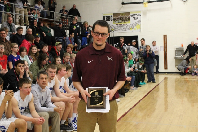 Kacy Keysor District 16 Coach of the Year (Photo by Ian Grande)
