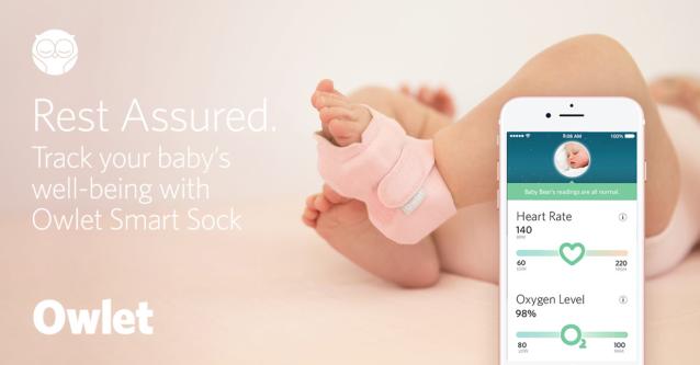Owlet Smart Sock Website