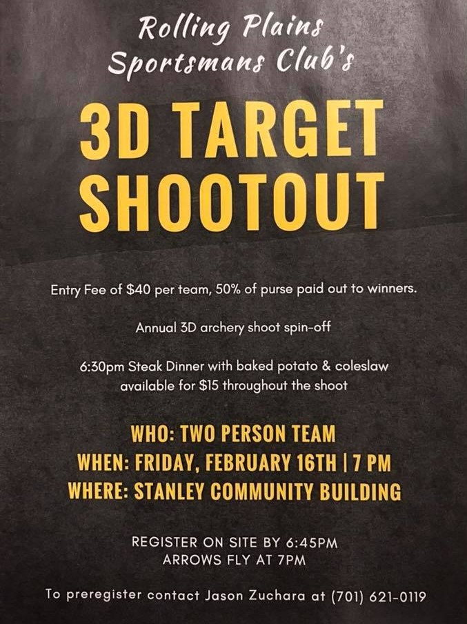 Rolling Plains Sportsmans Club plans 3D Target Shootout
