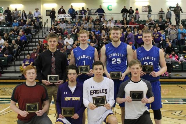 2018 North Dakota Class B Region 8 All-Tournament Team