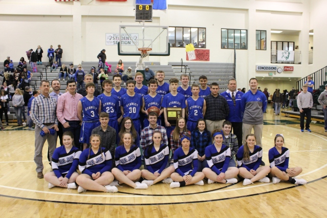 Stanley Blue Jays Region 8 Tournament Champions (Photo by Ian Grande)