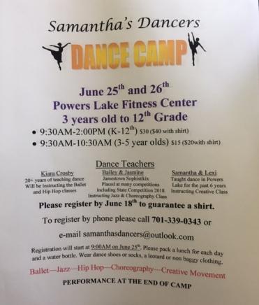 Samantha's Dancers Dance Camp